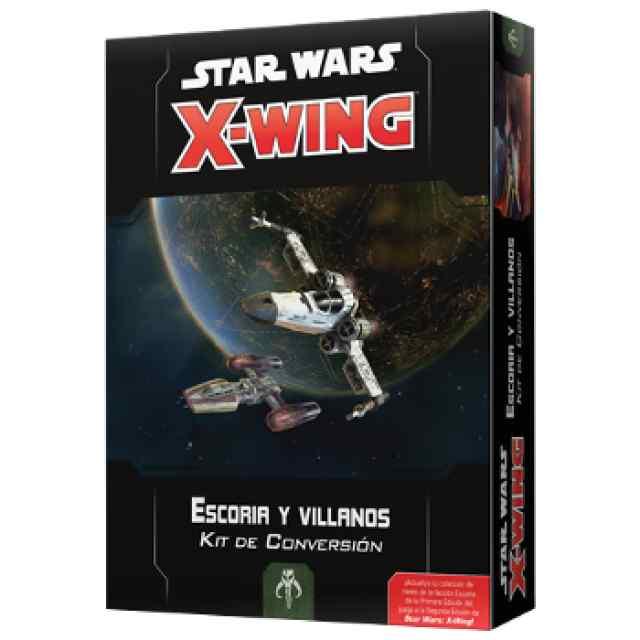 x-Wing (2ª Ed): Kit Conversión Escoria y Villanos TABLERUM