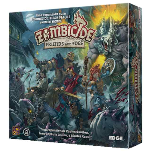 Zombicide Black Plague: Friends and Foes TABLERUM