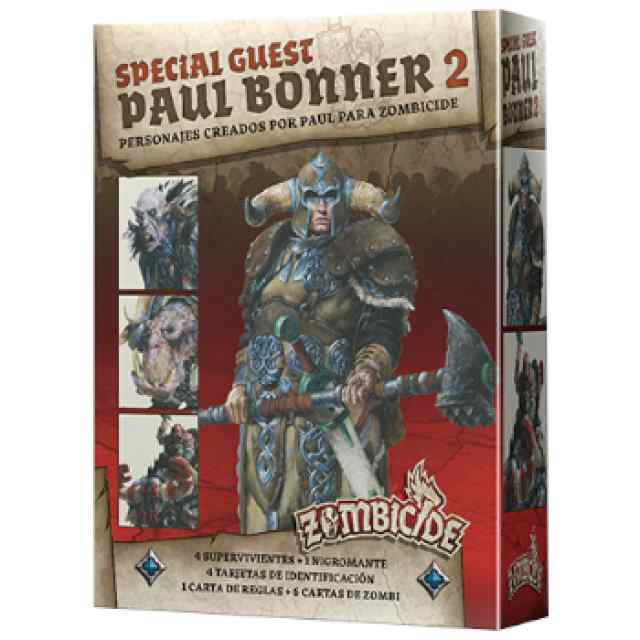 Zombicide Black Plague: Special Guest Paul Bonner 2 TABLERUM