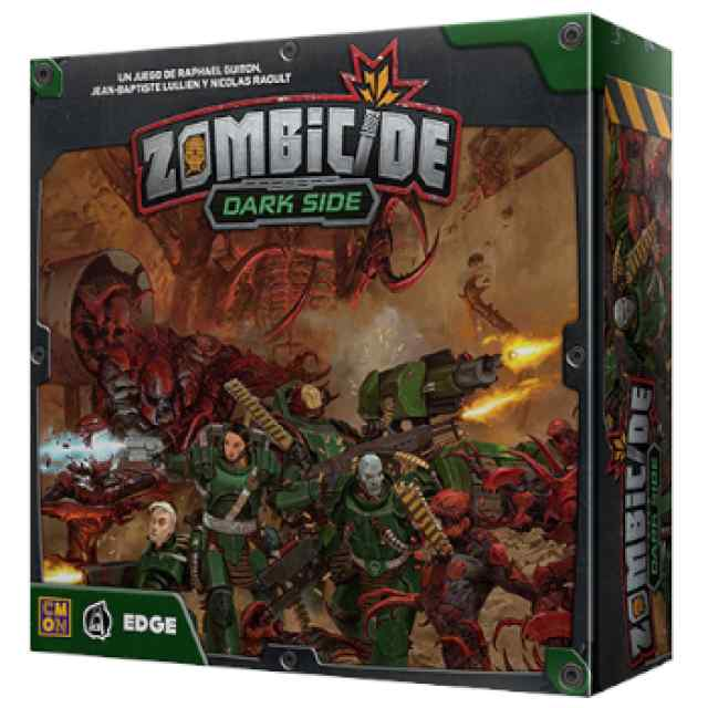 Zombicide: Invader: Dark Side TABLERUM