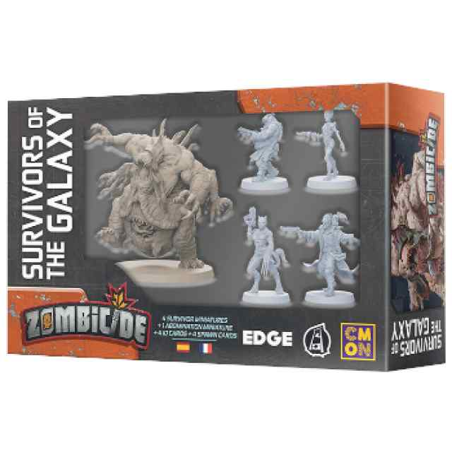 Zombicide: Invader: Survivors of the Galaxy TABLERUM