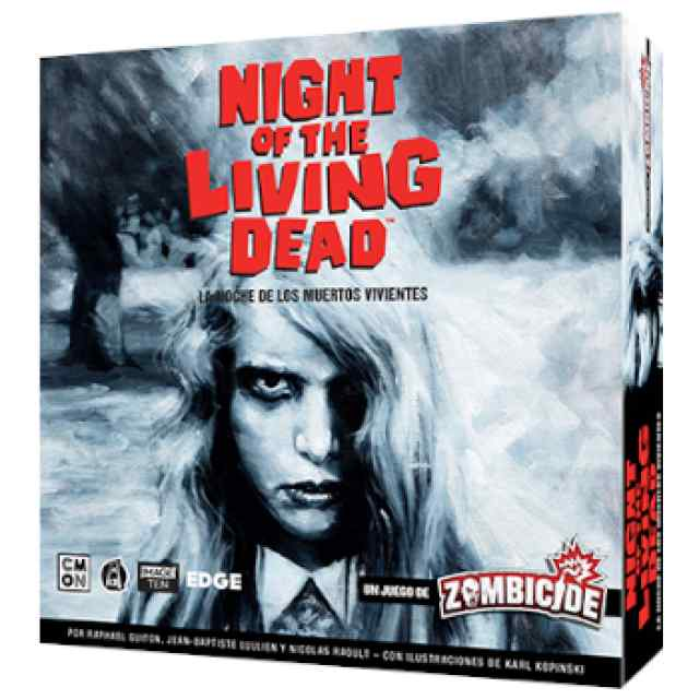 Zombicide: Night of the Living Dead (La Noche de los Muertos Vivientes) TABLERUM