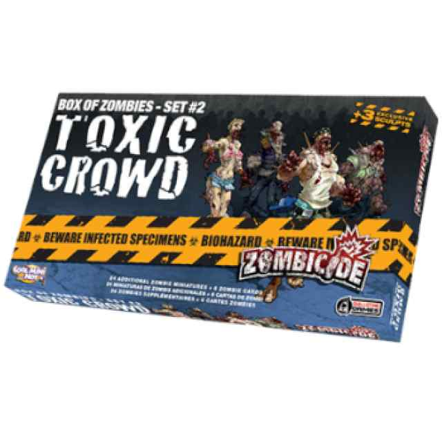 Zombicide: Toxic Crowd TABLERUM