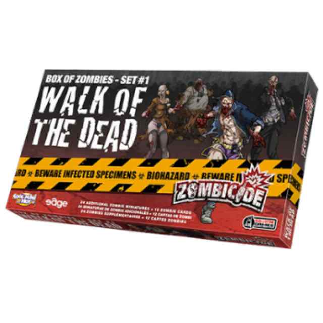 Zombicide: Walk of the Dead #1 TABLERUM
