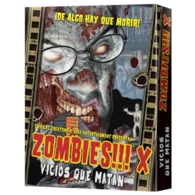 Zombies!!! X: Vicios que Matan TABLERUM
