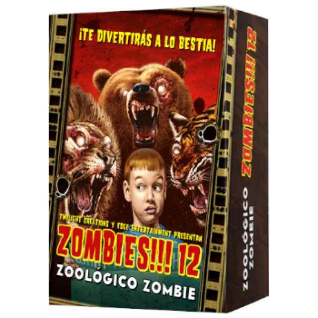 Zombies!!! 12: Zoológico Zombie TABLERUM