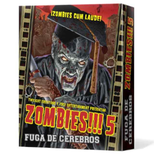Zombies 5: Fuga de Cerebros