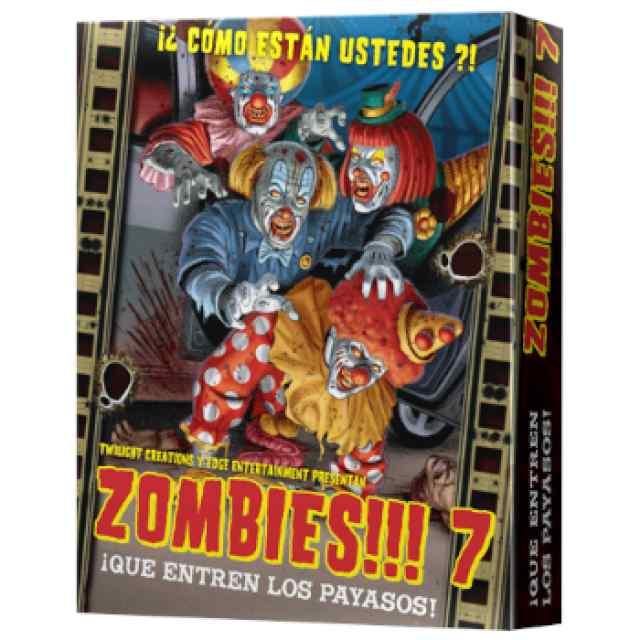 Zombies 7: ¡Que entren los payasos! TABLERUM