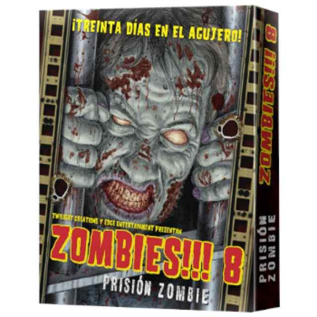 Zombies 8: Prisión Zombie TABLERUM