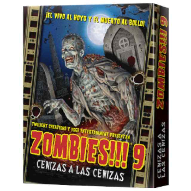 Zombies!!! 9: Cenizas a las Cenizas TABLERUM