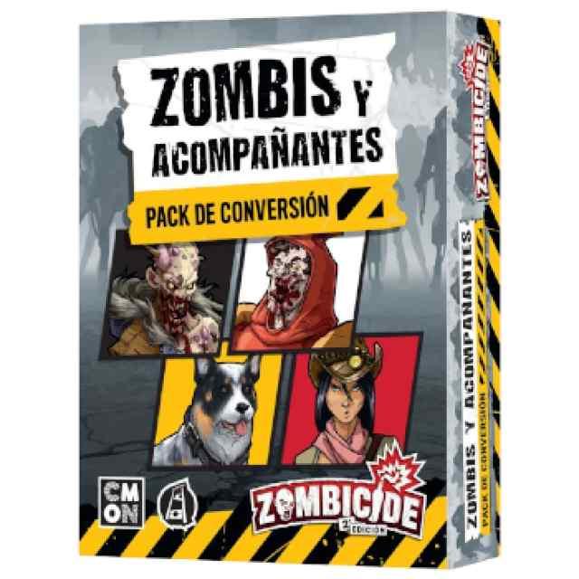 Zombicide: Zombis y acompañantes - Pack de conversión TABLERUM